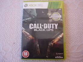 Xbox 360 Call of duty black ops. Backwards compatible Xbox one.