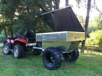 Tow behind ATV trailer