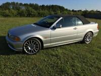 Bmw 330 convertible (low mileage)