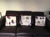 Curtains, blind & cushions