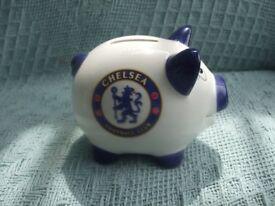 CHELSEA FOOTBALL CLUB. PIGGY BANK.