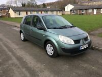 2004 RENAULT SCENIC 1.4 PETROL GREAT FAMILY CAR CHEAP OCT MOT DRIVES NICE HALF A TANK OF FUEL