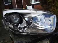 2012 to 2015 Kia Picanto Driver side light with DRL for Spares or Repair