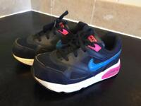 Girls Nike Air Max size 9.5