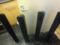 Samsung tallboy speakers
