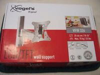 Vogel (VFW 326) LCD/TFT Tilt & Turn Wall Bracket for TV (Silver)