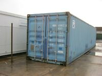 40ft x 8ft Used Shipping Container's For Sale FULLY CERTIFIED FOR SHIPPING portable cabin shed store