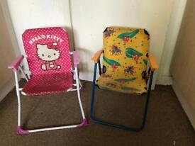 2 chair for boys and girls