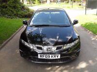 2009 Honda Civic 2.2 i CTDi SE 5dr [1 LADY OWNER+FSH+AUX+WARRANTY]
