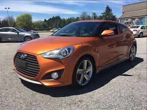 2013 Hyundai Veloster Turbo/ NAVI / LEATHER / SUNROOF