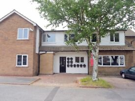 Newly built ground floor studio flat, rented Fully Furnished close to Loughborough Town Centre