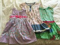 Bundle of girls dresses aged 4 (Next & John Lewis)