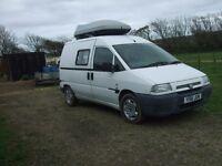 Peugeot Expert HDI diesel self-build 2 berth dayvan/campervan