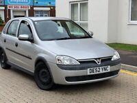 Vauxhall, CORSA, Hatchback, 2003 Automatic 5 doors