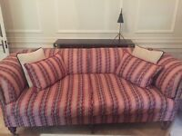 Beaumont & Fletcher Pompadour Sofa in Mulberry Fabric