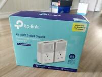 Tp- link powerline kit AV1000 2-port Gigabit