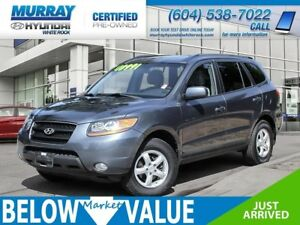 2008 Hyundai Santa Fe GL 3.3L**LEATHER**SUNROOF**SERVICE RECORDS