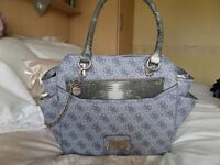 Guess Satchel handbag and matching wallet