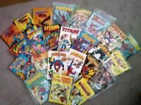 Vintage Superhero Annuals