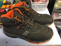 Stihl chainsaw safety boots size 11