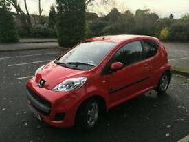 Peugeot 107 *£20 tax* *low miles* *low insurance*