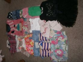 Girls clothes bundle aged 18 months-3 years