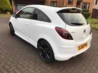 2010 Corsa limited white and black 38000miles