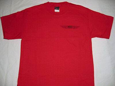 Waco Biplane Airplane T-shirt in Red for sale  Shipping to Canada