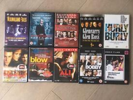 Bundle of DVDs - £1 each or £7 for the lot