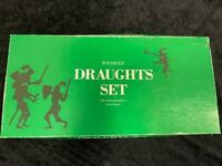 DRAUGHTS SET WH Smith