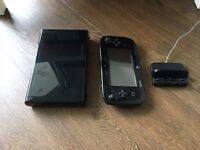 Wii U 32GB black, boxed (3 games and 3 controllers could be added)
