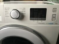 Samsung eco bubble washing machine 7kg