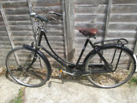 """Pashley Princess traditional 3 speed 20"""" frame all works well, has plenty of vintage """"Patina"""""""