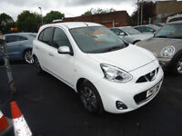 2017 NISSAN MICRA N TEC 1.2 PETROL ONLY 288 MILEAGE ONE OWNER FROM NEW ONLY£30 TAX NAVIGATION SYSTEM