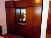 Mahogany bedroom furniture
