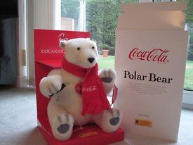 Steiff Collectable Coca cola bear