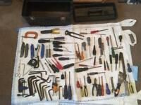 Job lot of tools