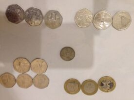 Mixed collection of rare coins . Open to offers