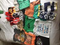 Boys aged 2-3 summer bundle gap/quiksilver/next