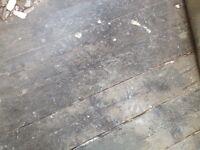 Victorian floor boards