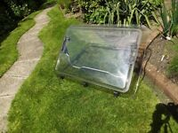 "Dometic ""HEKI- 2 "" caravan / motorhome rooflight acrylic only with fittings"