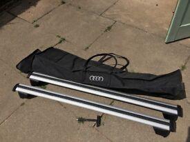 Audi roof bars