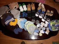 baby boy shoes socks and hats