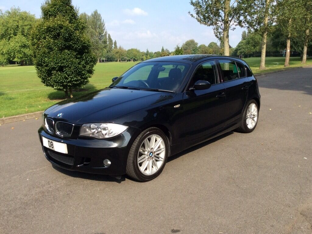 bmw 118d m sport 2008 diesel black 5 door hatchback 6 speed in sandwell west midlands gumtree. Black Bedroom Furniture Sets. Home Design Ideas