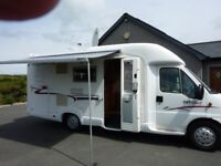 2004 rapido 763f motorhome on fiat ducato maxi wide chassis 2.8 JTD