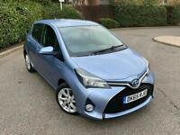 2015 65 Toyota Yaris 1.5 Excel Hybrid Automatic Electric Petrol CHEAPEST ON NET not corsa golf leon