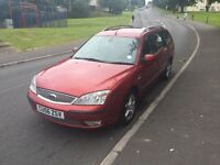 Diesel 6 speed 130 bhp 2006 Ford mondeo Estate ,drives well ,average miles ,px welcome