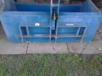 3 point linkage transport box for compact tractor