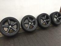 "Audi Q7 20"" Alloy Wheels with Goodyear Ultragrip 285/45R20 Winter Tyres"