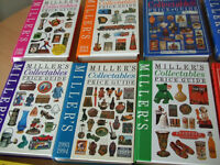 12 Millers Collectables Books Hard Back books. In good clean condition